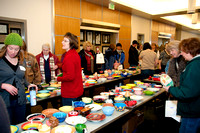 The Our Center's Empty Bowls 2013